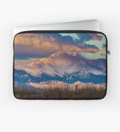 Mt Meeker and Longs Peak Sunrise Laptop Sleeve