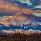 Mt Meeker and Longs Peak Sunrise by Gregory J Summers