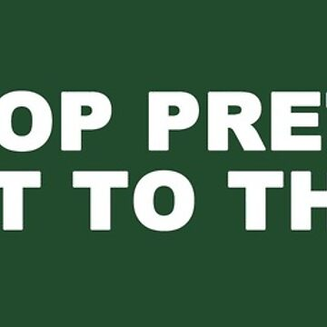 Let's Stop Pretending We Went to the Moon BUMPER STICKER by flatearth1111