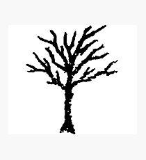 XXXTENTACION TREE Photographic Print