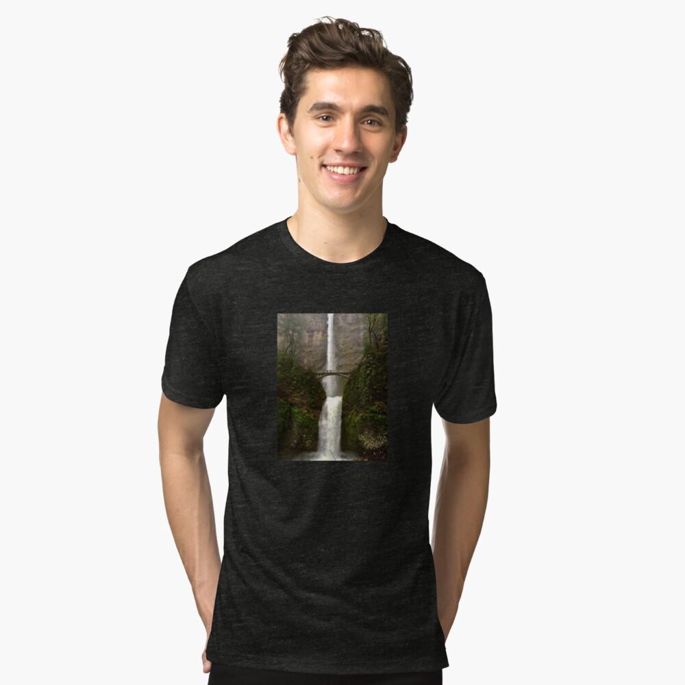 Multnomah Falls Tri-blend T-Shirt