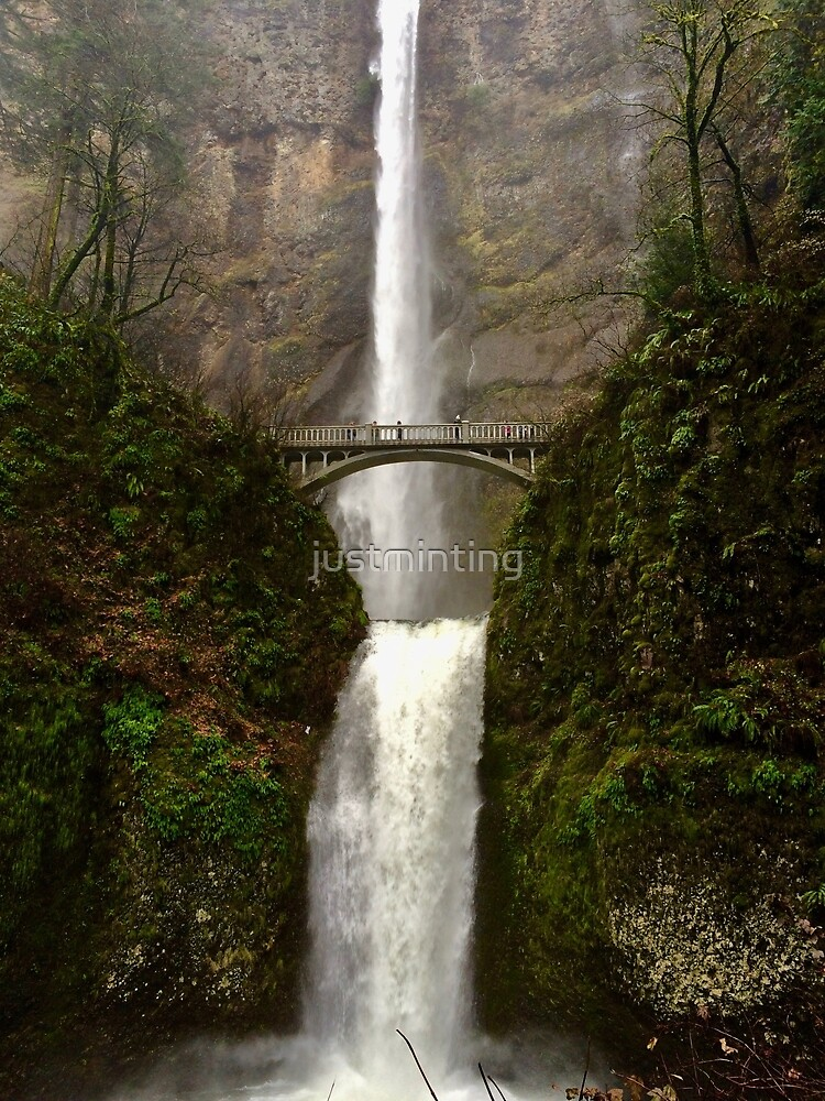 Multnomah Falls by justminting