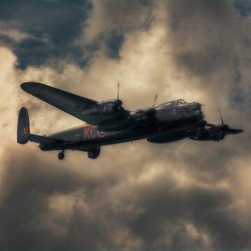 BBMF Lancaster Bomber by Nigdaw