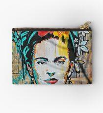 Frida Kahlo Tribute Studio Pouch