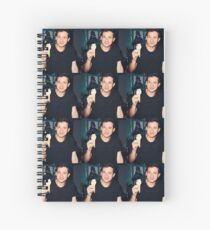 Ice Cream Charlie Puth Spiral Notebook