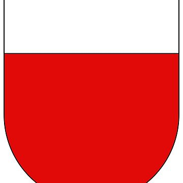Coat of Arms of Lausanne, Switzerland by PZAndrews