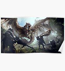 Monster Hunter Welt Rathalos Poster