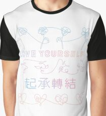 BTS Love Yourself albums connected Graphic T-Shirt