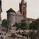 Königsberg Castle in 1895 by edsimoneit