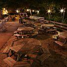 Starved Rock Lodge Veranda by Adam Bykowski