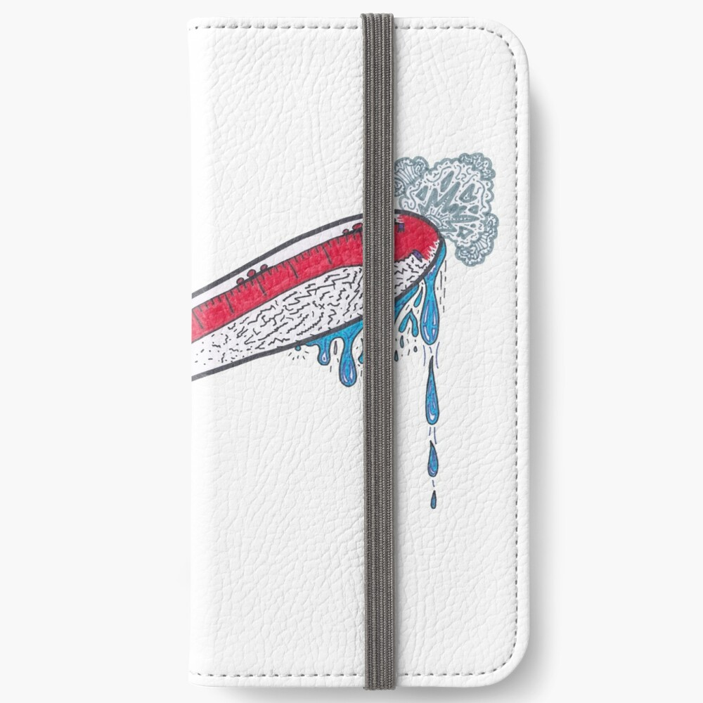 Merch #21 -- Thermometer Exclamation iPhone Wallet