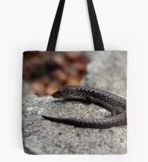Northern Alligator Lizard Contemplating Lunch Tote Bag