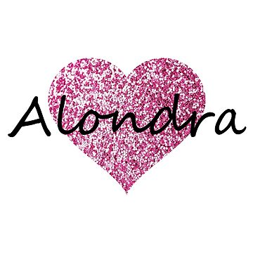 Alondra Pink Heart by Obercostyle