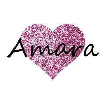 Amara Pink Heart de Obercostyle
