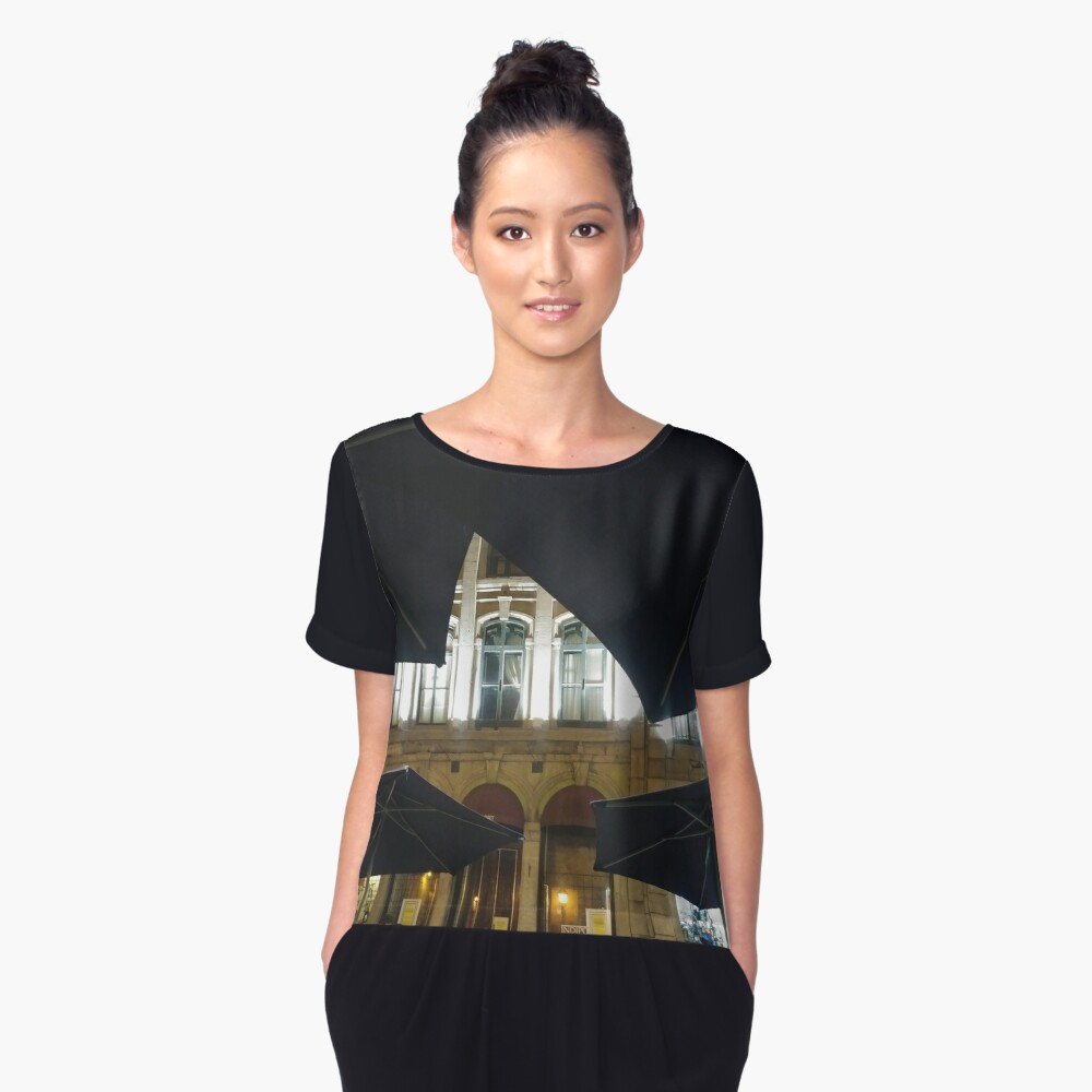 Montreal, #Montreal #City, #MontrealCity, #Canada, #buildings, #streets, #places, #views, #nature, #people, #tourists, #pedestrians, #architecture, #flowers, #monuments Women's Chiffon Top Front
