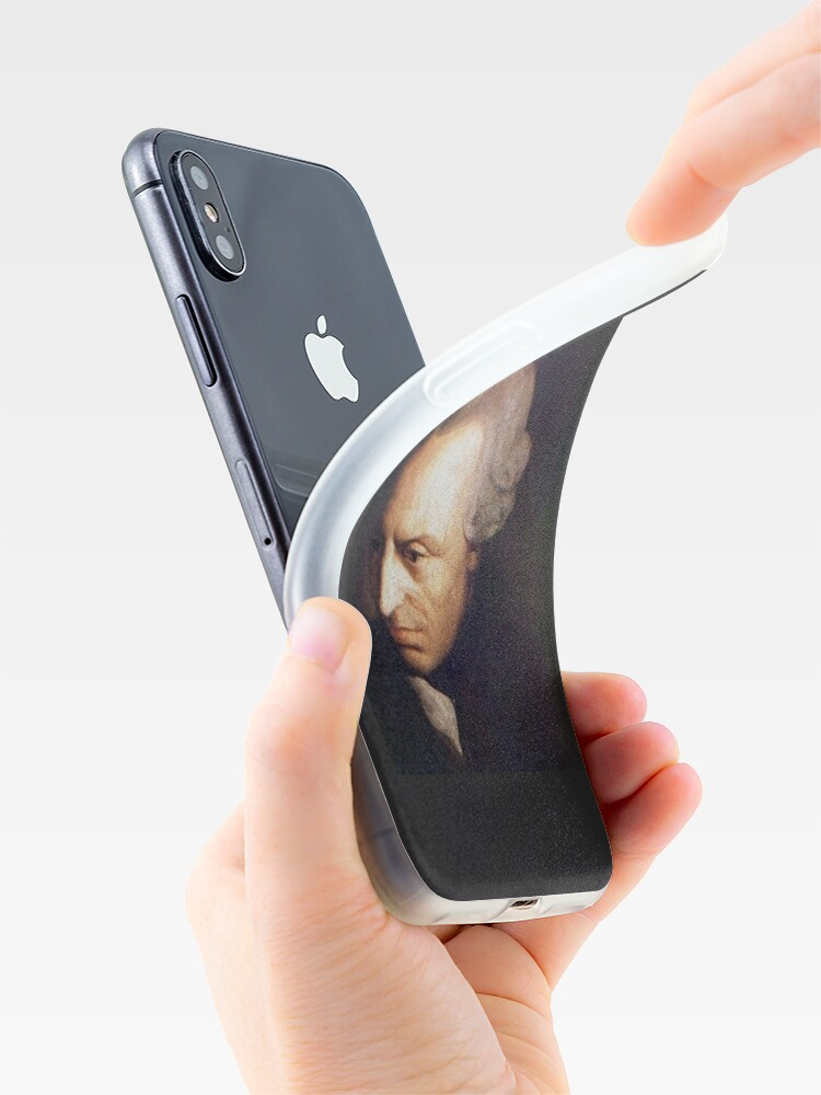 Alternate view of Immanuel Kant  iPhone Case & Cover