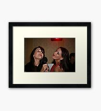 Singing Joplin. Framed Print