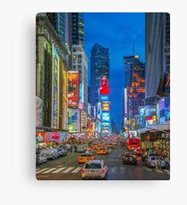 Times Square (Broadway) Canvas Print
