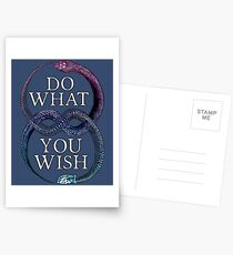 Do What You Wish Postcards