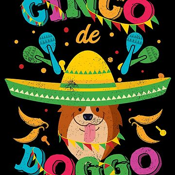 Cinco de Mayo Corgi Dog by TheLariat