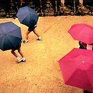 Nara Umbrellas by Wayne King