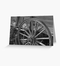 THE WEST - AN EXPERIMENT - SEVERAL PHOTOS Greeting Card