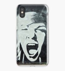 Shouting iPhone Case
