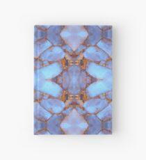 Blue Quartz and Gold Hardcover Journal