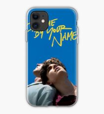 Call me by your name poster iPhone Case