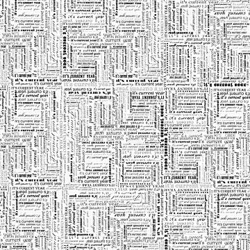 Es ist das aktuelle Jahr Typografie Druck von Saburkitty