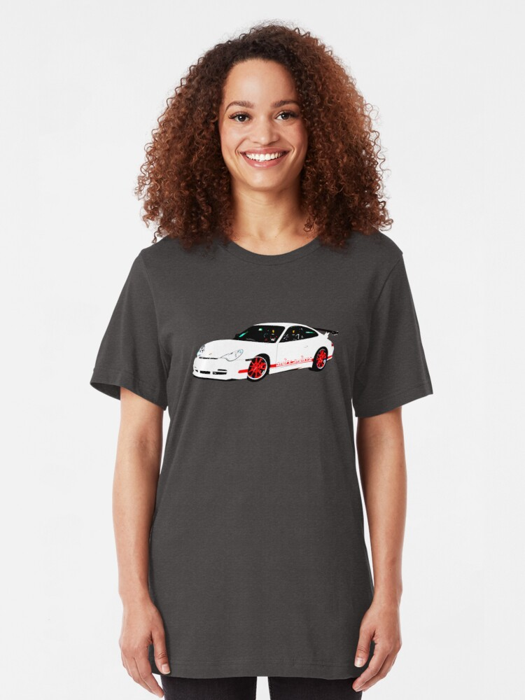 Alternate view of Rennsport H20 – 996 GT3 RS Inspired Slim Fit T-Shirt