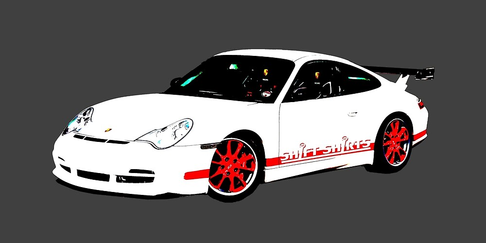 Rennsport H20 – 996 GT3 RS Inspired by ShiftShirts