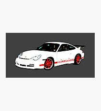 Rennsport H20 – 996 GT3 RS Inspired Photographic Print