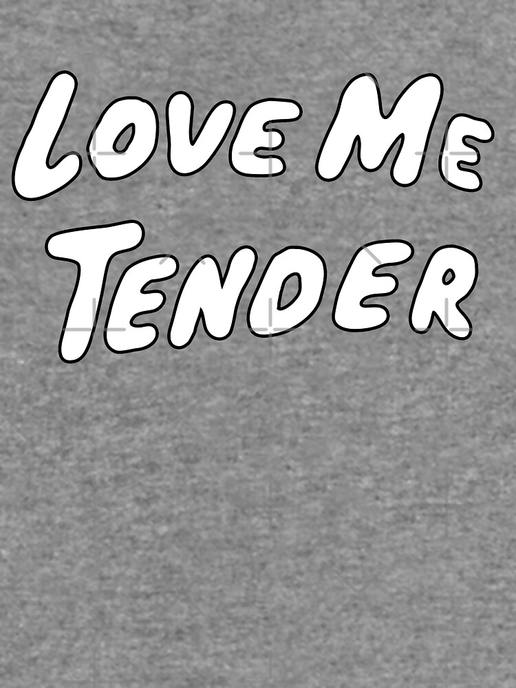 Love Me Tender by iheartclothes