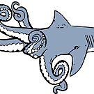Sharktopus by justintapp