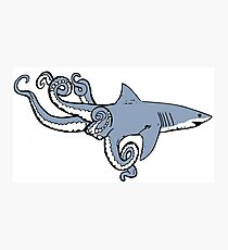 Sharktopus Photographic Print
