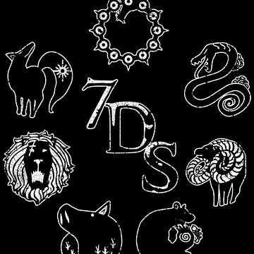 Seven Deadly Sins by huckblade