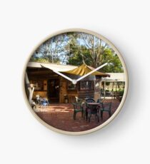 Cellar Door / Art Gallery Magpie Springs - Adelaide Hills Wine Region- Fleurieu Peninsula. South Australia Clock