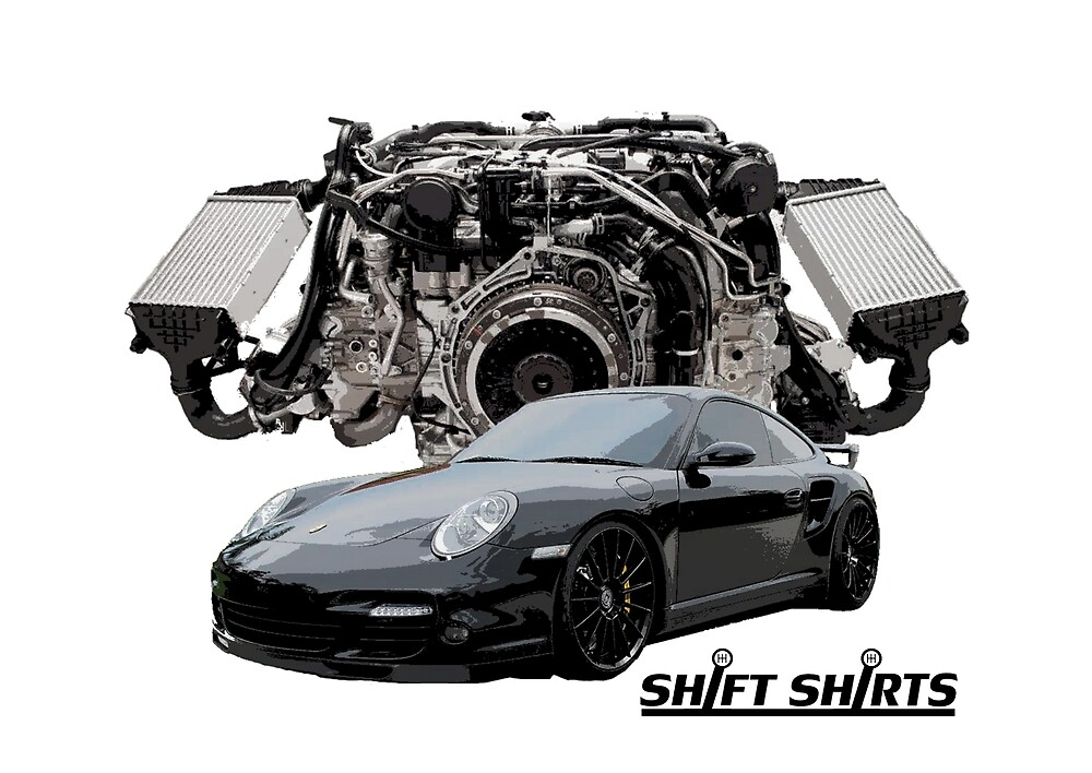 Race Inspired - 997 Turbo Inspired by ShiftShirts