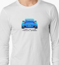 Last Manual - 997 Turbo (997.2) Inspired  Long Sleeve T-Shirt