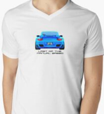 Last Manual - 997 Turbo (997.2) Inspired  Men's V-Neck T-Shirt