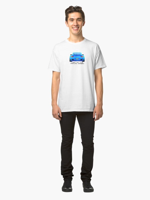 Alternate view of Last Manual - 997 Turbo (997.2) Inspired  Classic T-Shirt