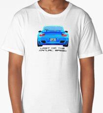 Last Manual - 997 Turbo (997.2) Inspired  Long T-Shirt