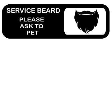 Service Beard by stedfastoutcast