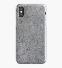 Roman Holiday 12 tonal moody greys with a concrete attitude iPhone Case