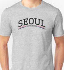 Seoul, Südkorea Slim Fit T-Shirt