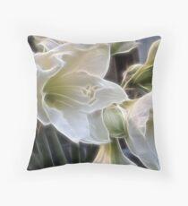Fractalius lillies.... Throw Pillow