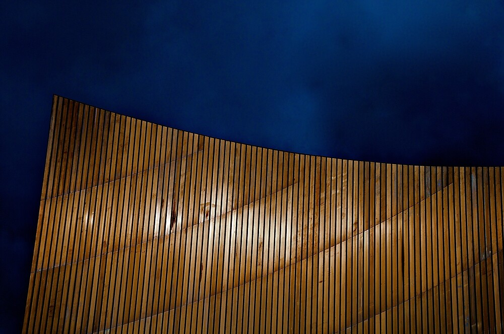 copper and blue by Martin Pickard