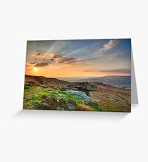 Yorkshire Rays Greeting Card