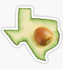 Texas Avocado  Sticker